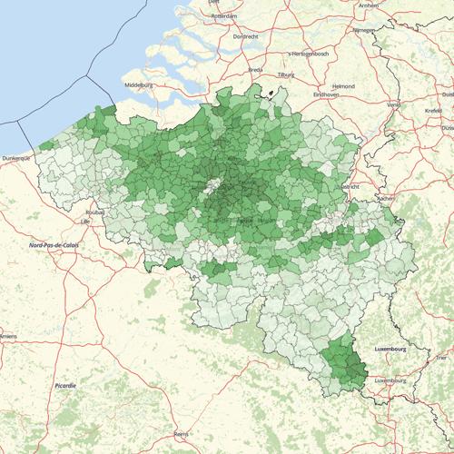 Demographics Belgium