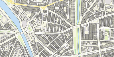 Cadastral Map the Netherlands
