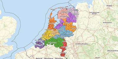 Gemeentekaart Nederland 2018