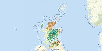 Wards Schotland 2011