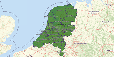 Veiligheidsregio's Nederland