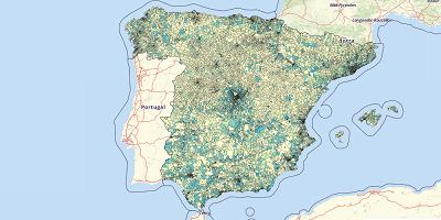 Huishoudens Spanje