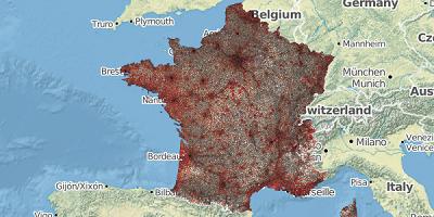 Werkgelegenheid Frankrijk