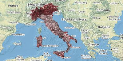 Werkgelegenheid Italië