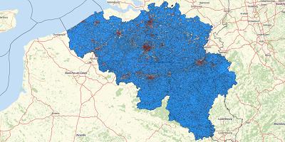 Population Belgium