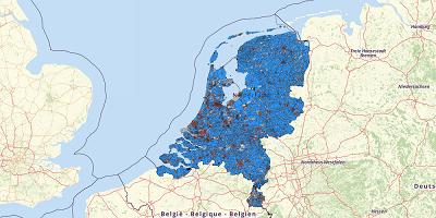 Population the Netherlands