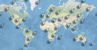 Meteorite Impacts Worldwide