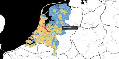 Koopkracht Nederland Gemeentes