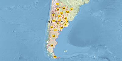 2-digit postal code Argentina