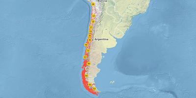 2-digit postal code Chile