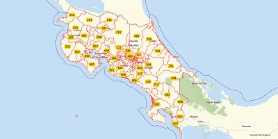 3-digit postal code Costa Rica