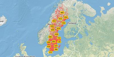 3-digit postal code Sweden