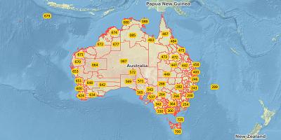 3-digit postal code Australia