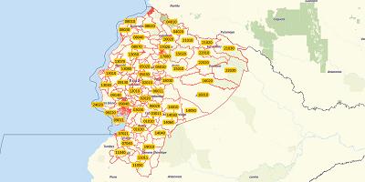 5-digit postal code Ecuador
