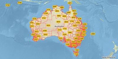 4-cijferige postcode Australië