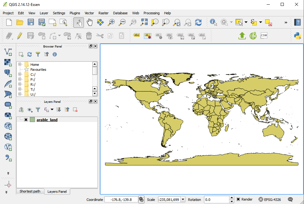 Spotzi Layer into QGIS