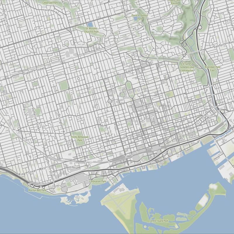 Basemap Toner Terrain