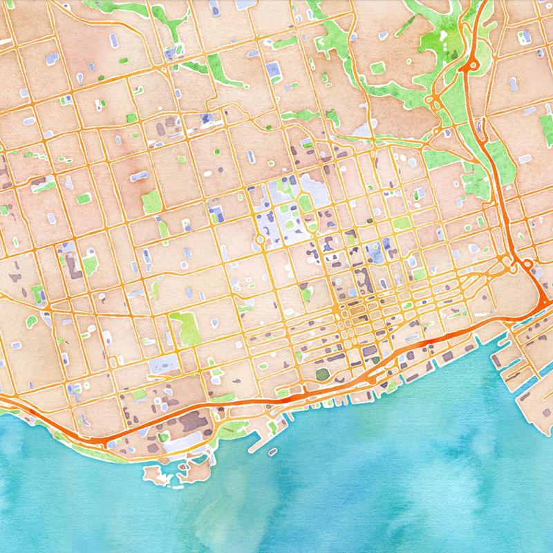 Basemap Watercolor