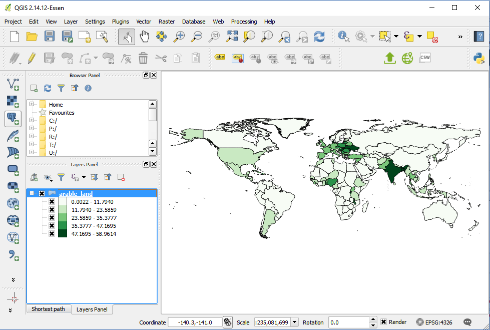 Create Maps in QGIS