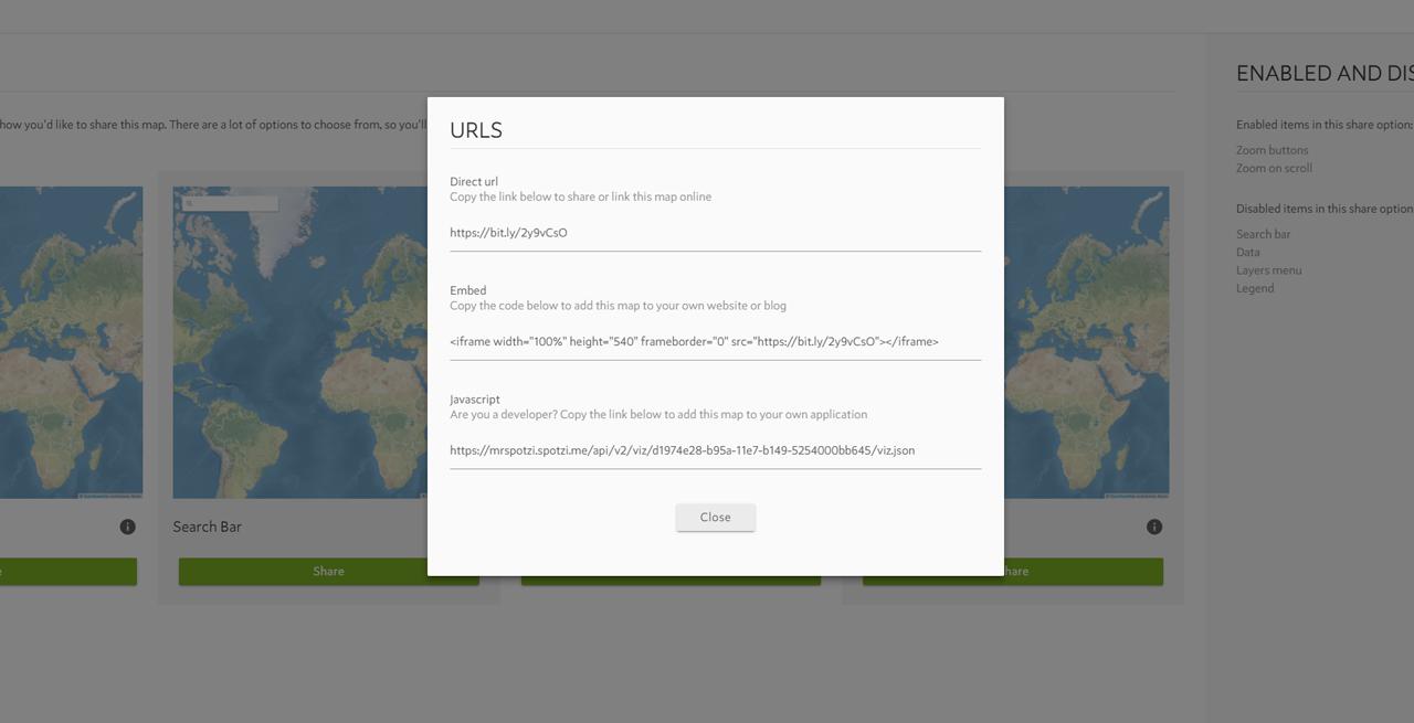 Spotzi Google Maps Integration