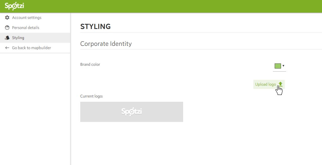Change Account Settings Spotzi