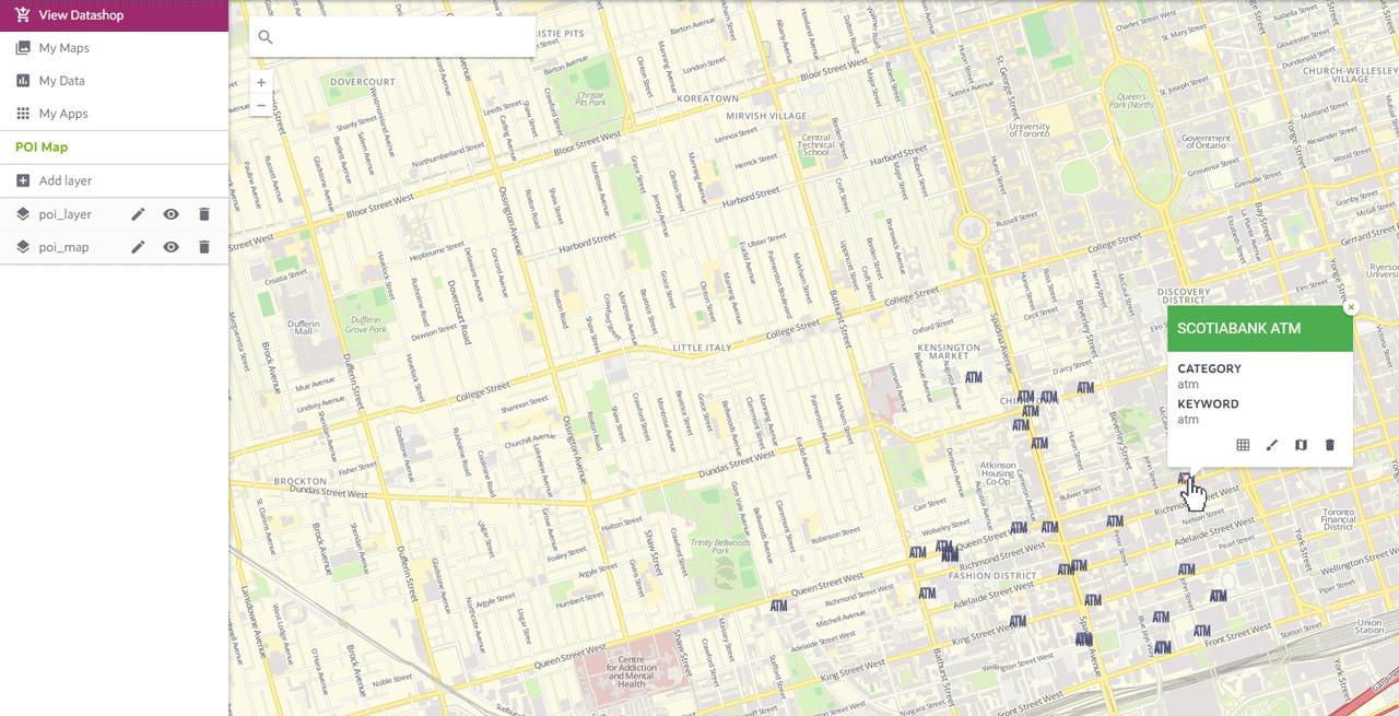 POI Maps