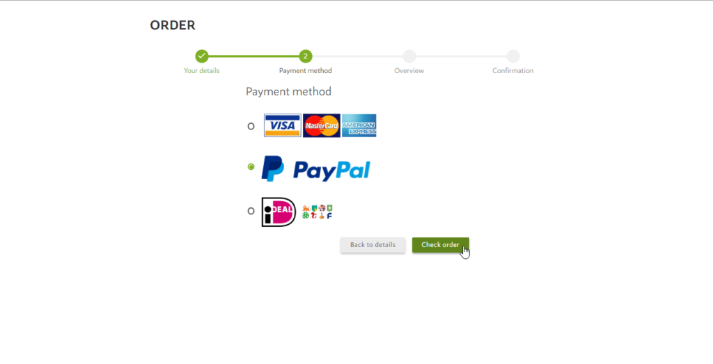 Order a Data Set with Paypal - Spotzi Help Center