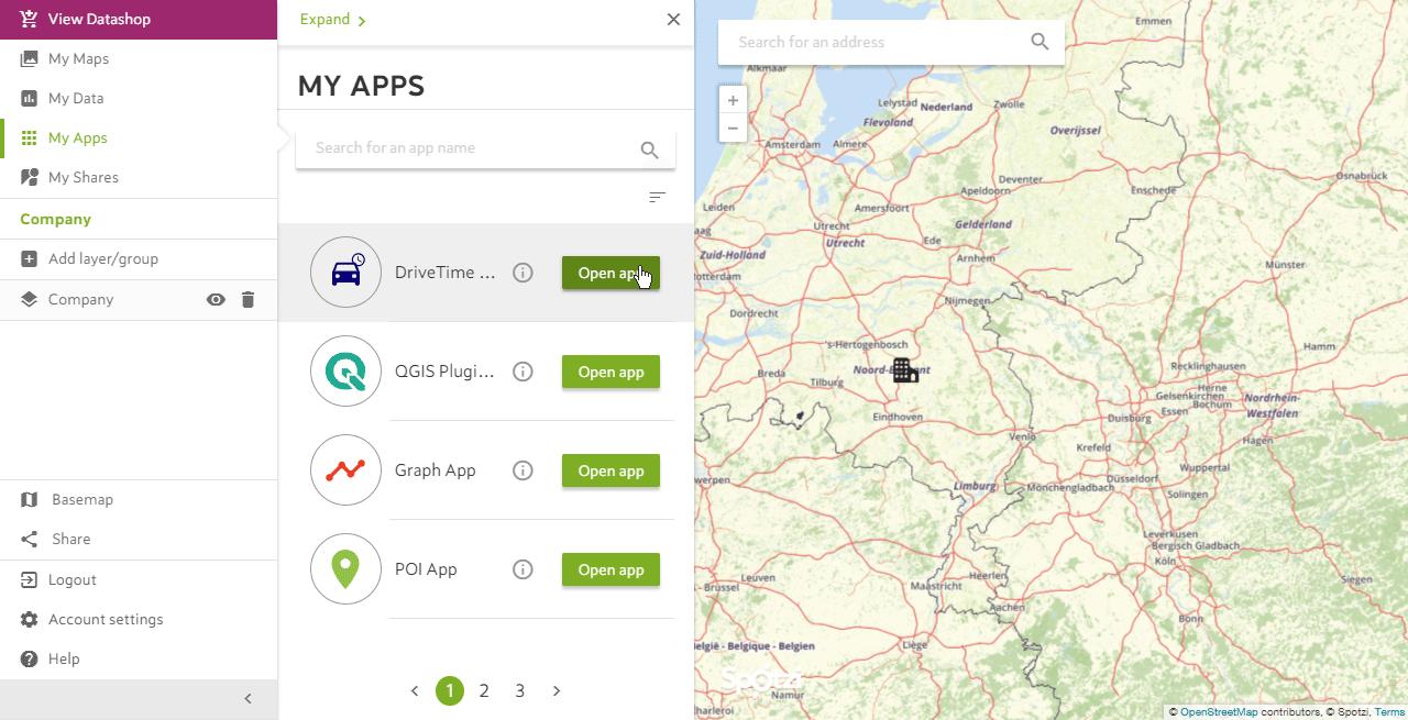 Drivetime App Step 2