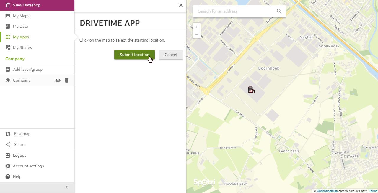 Drivetime App Step 7